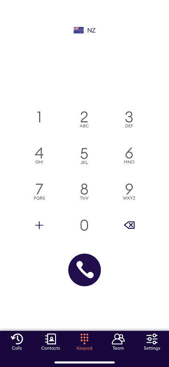 Dialling from the Cradle Keypad